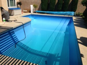 In Ground Pool Liner Installation